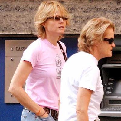 Jodie Foster and Cydney Bernard