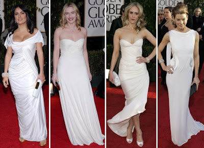 Ladies in White: Salma, Kate, Sarah, Ellen