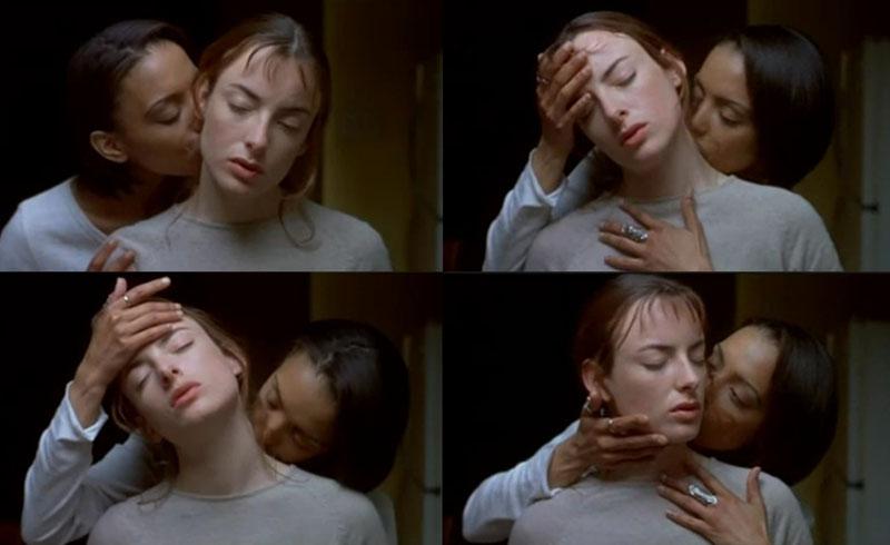 Rosario dawson kissing jenny slate 10