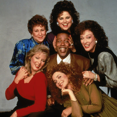 "I watched ""Designing Women"" obsessively in college courtesy the wonder that"