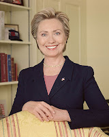 Hillary Clinton Sees Some Tax Dollars - US Senate portrait, public domain