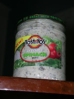 Tostitos brand creamy spinach dip, by John Stephen Dwyer, released by artist into public domain.  Via Wikimedia Commons.  I have no idea what this tastes like!