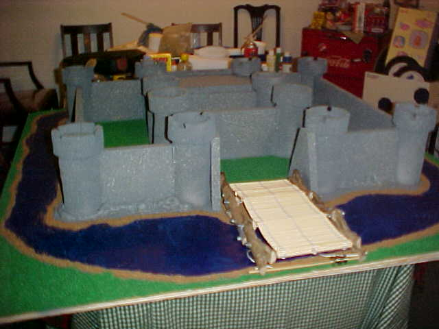 how to build a castle project