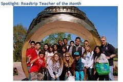 Roadtrip Nation Teacher of the Month