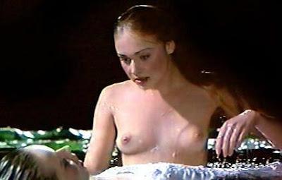 Portia de Rossi topless