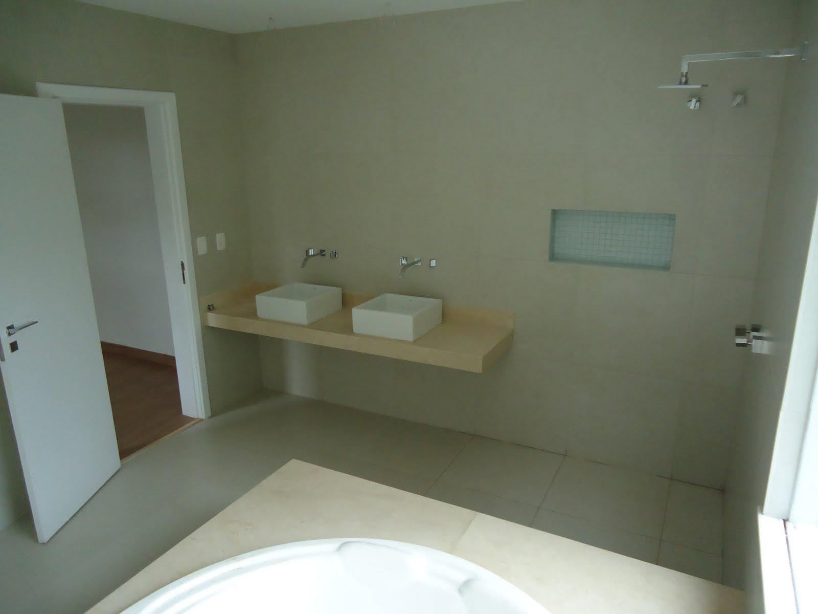 Hall do andar superior Sala de TV #595134 1600x1200 Banheiro Com Lavabo Externo