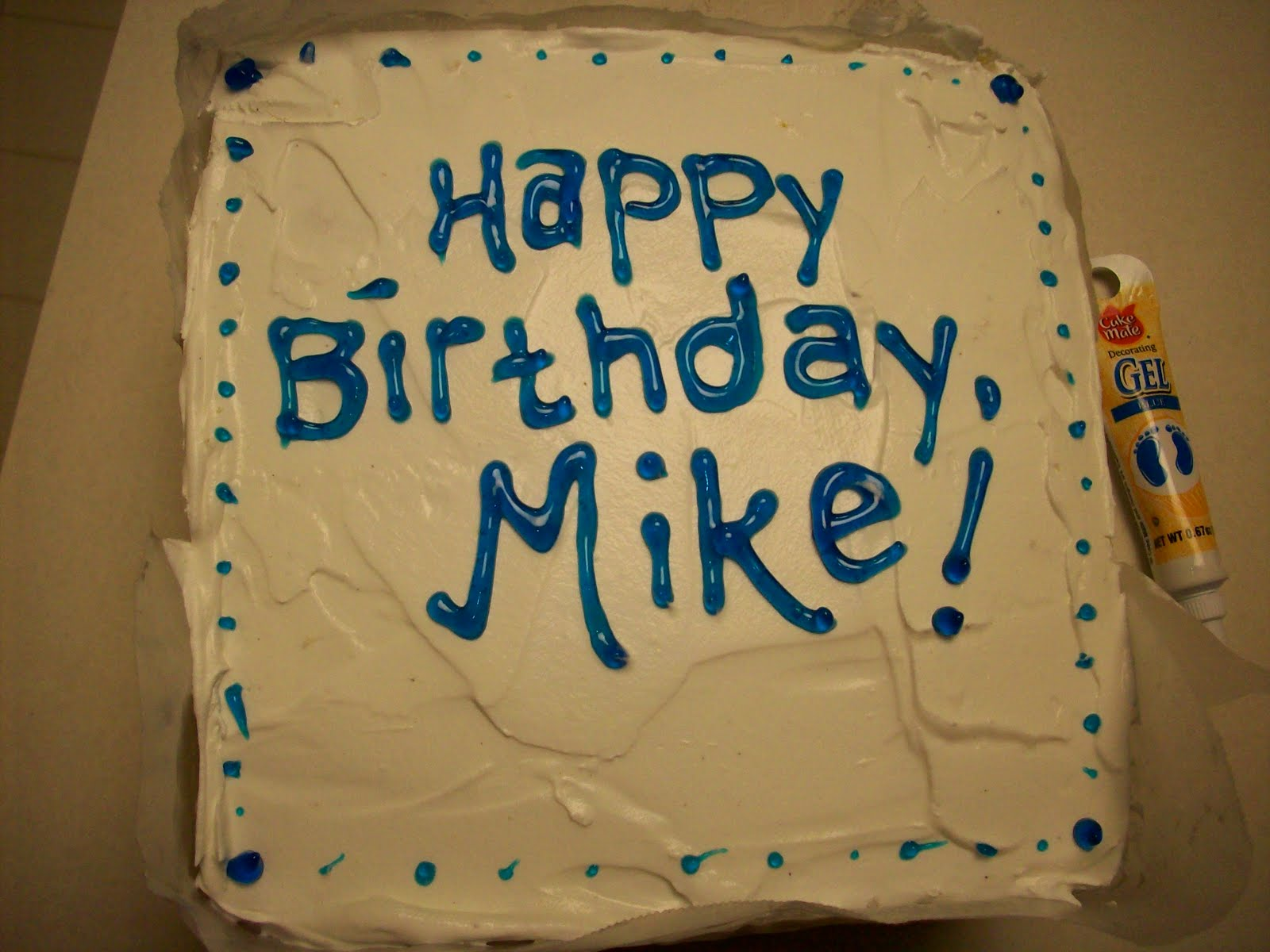 Mike Irenes Blog Happy Birthday Mike