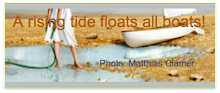 A Rising Tide Floats All Boats - thanks to all my sponsors for helping!