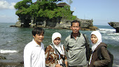 sayid jumianto on sea tanah lot