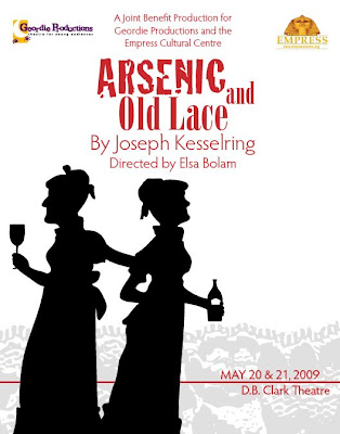 an analysis of the play arsenic and old lace Arsenic and old lace description: this wardrobe plot indicates our interpretation  of the costume needs of the production it is intended to provide you with.