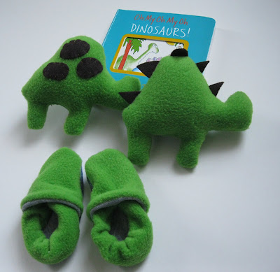 stuffed dinosaur pattern