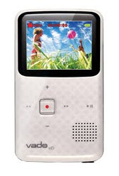 Vado HD White Video Cam