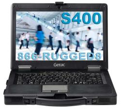 New Getac S400 Semi-Rugged Notebook