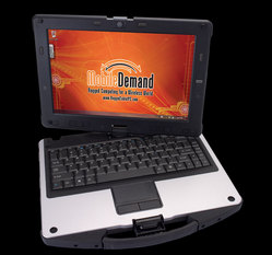 xTablet C1200 Convertible Rugged Laptop to Tablet PC