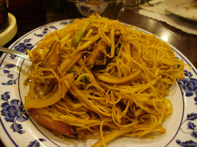 Singapore Noodle Picture on Several Of The Many Noodle Dishes That We Ordered