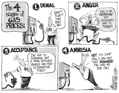 gas prices cartoon. with oil and gas prices