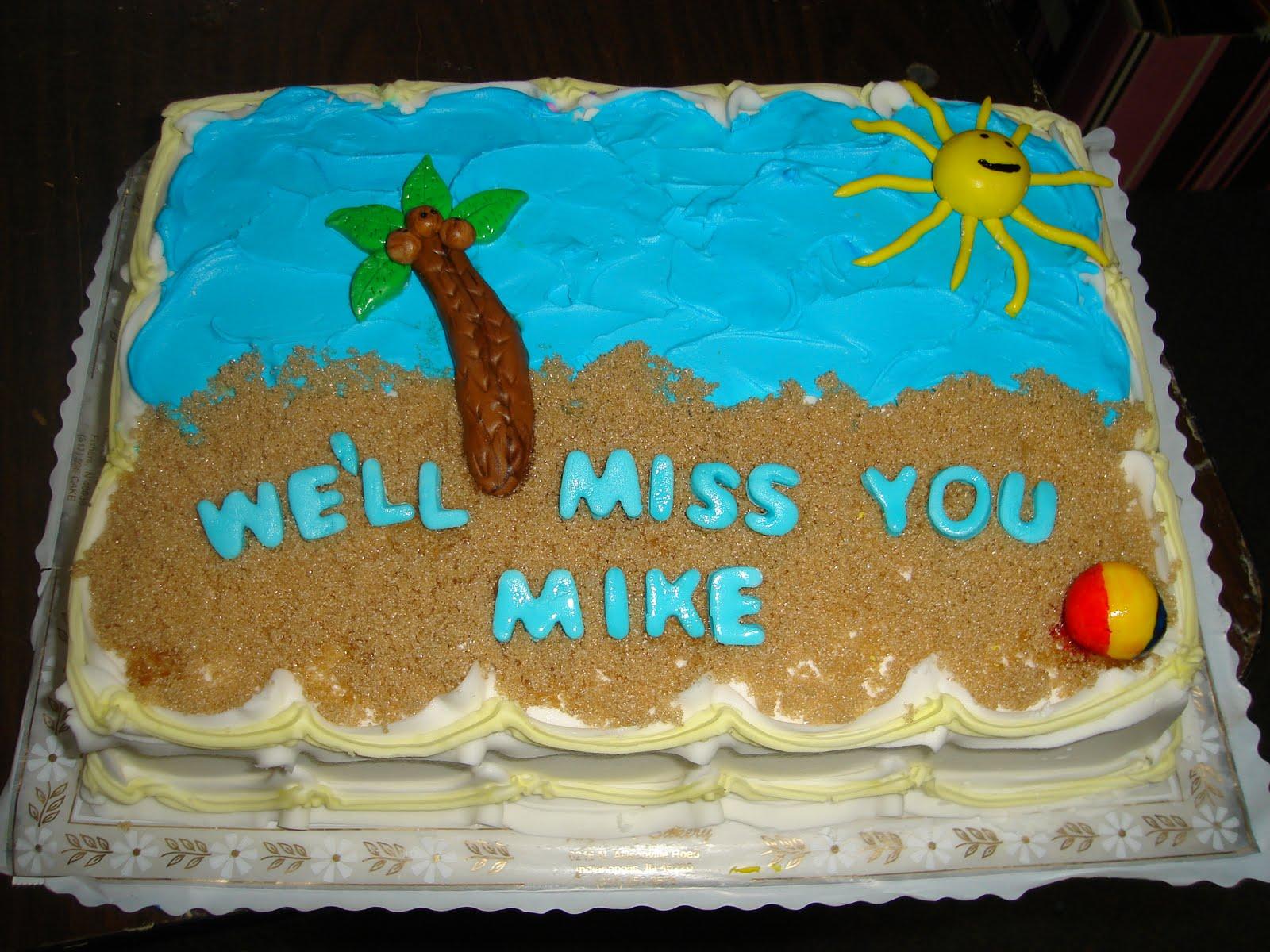 Kakie S Cakes Going Away Cake