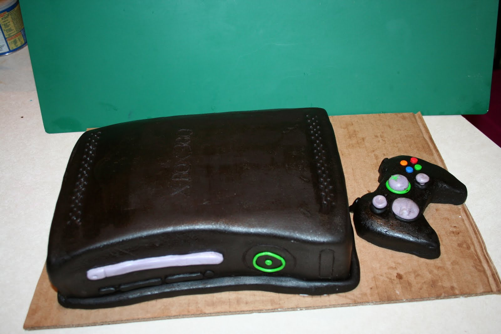 Xbox One Cake Designs : Kakie s Cakes: XBox 360 birthday cake