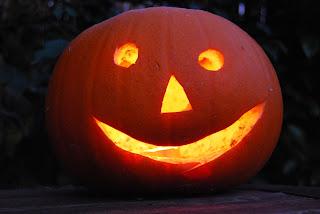 Pumpkin aflame