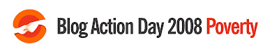 Blog Action Day 2008 - Poverty logo