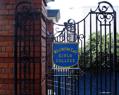 The Gates of Wellington East Girls' College
