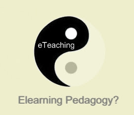 Elearning Pedagogy?