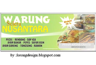 Spanduk Warung Mkan | Joy Studio Design Gallery - Best Design