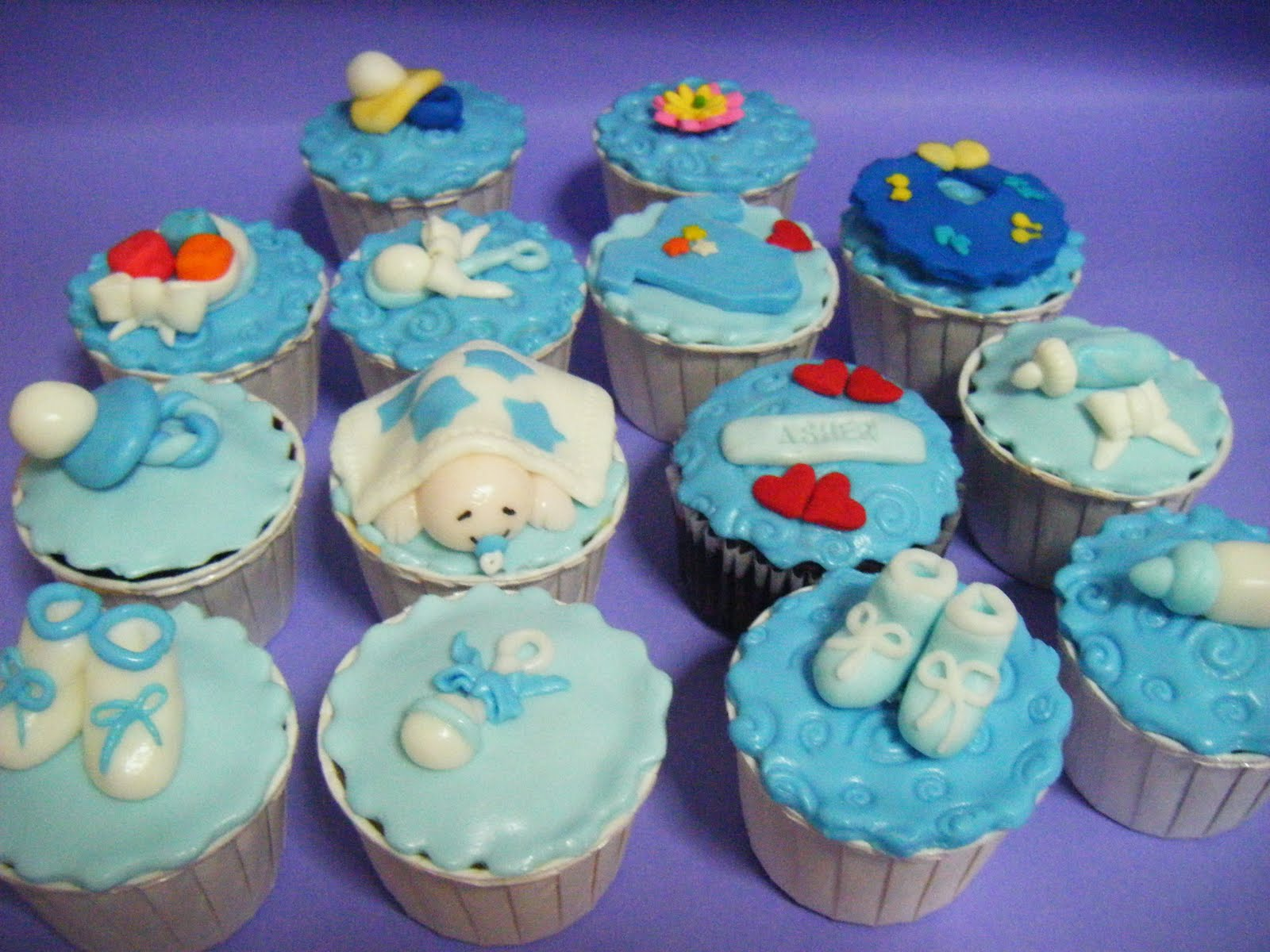 ~~~Ecupcakes~~~: Baby Boy Shower CupCakes