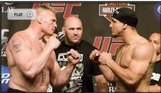 UFC 100 Brock Lesnar vs Frank Mir Live Streaming