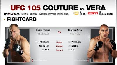 UFC 105 live stream / streaming online