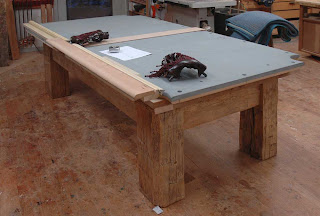 Dorset Custom Furniture A Woodworkers Photo Journal Build Your - How to move a slate pool table