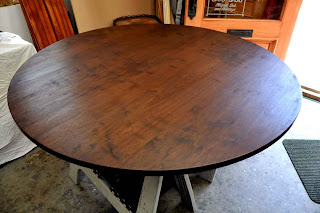Perfect A Distressed Walnut Table Top