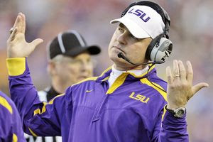 LSU Football Coach Les Miles