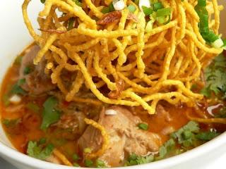 Khao soi recipe: Chiang Mai chicken curry & noodles