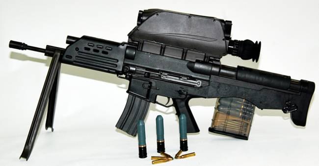K senapan serbu terbaru korea selatan ii