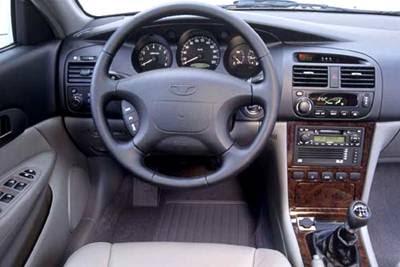Daewoo Magnus Interior
