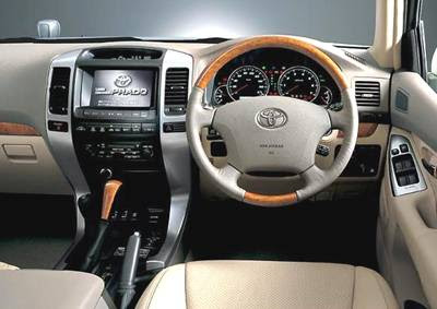 Toyota Land Cruiser 2005 Interior Toyota Land Cruiser Prado