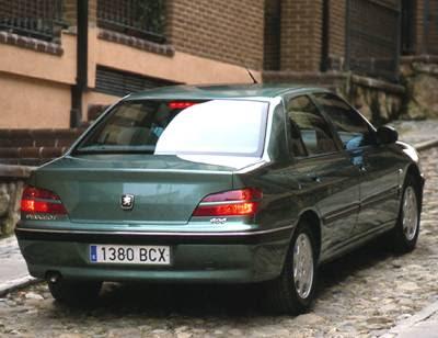 Peugeot 406 Interior. Peugeot 406