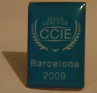 CCIE Label Pin 1