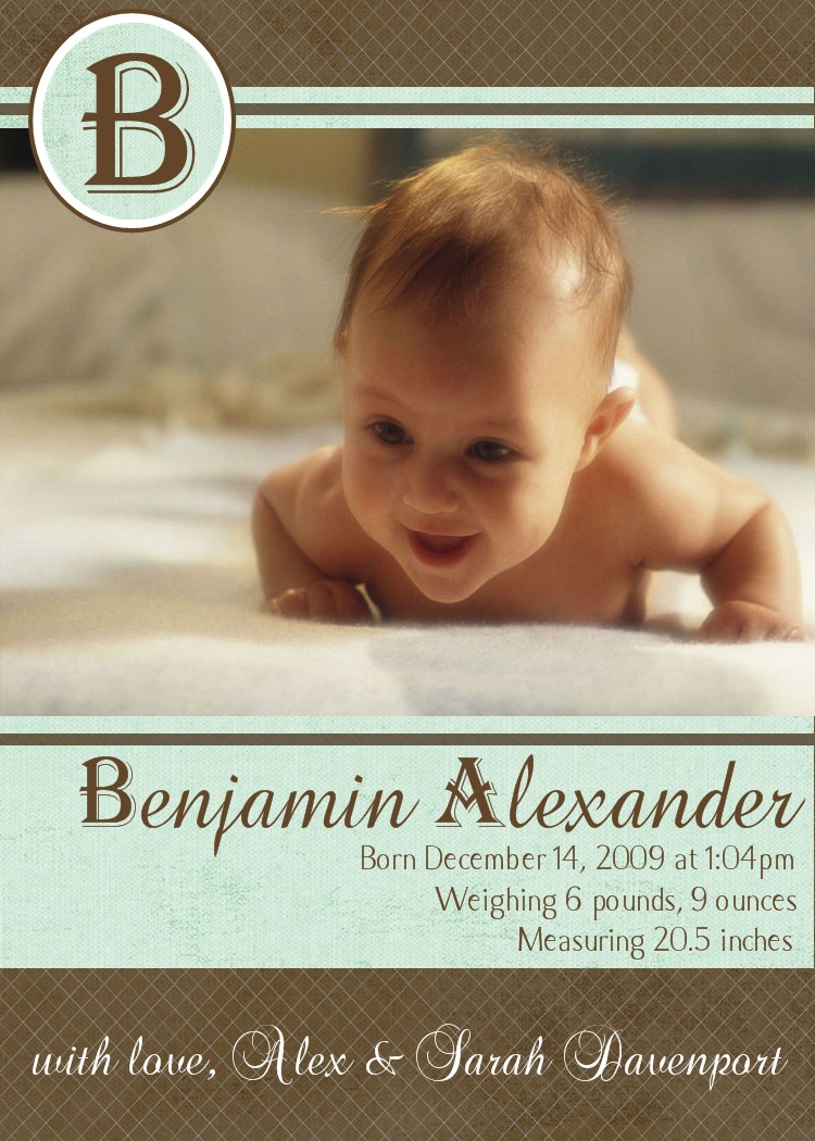 bear river photo greetings  bouncing baby boy adoption and