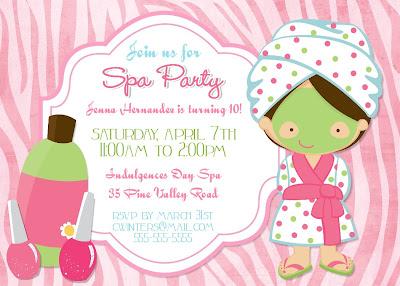 Fazendo a Minha Festa Infantil: Spa Party!