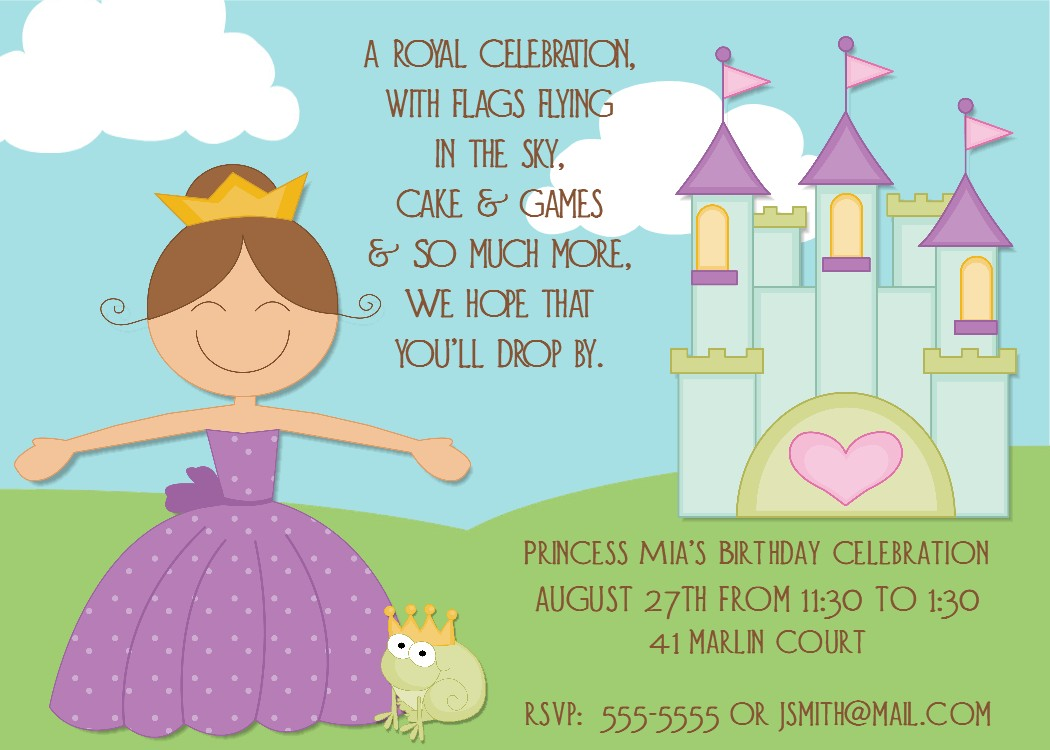 a birthday invitation - Etame.mibawa.co