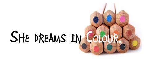 She dreams in colour
