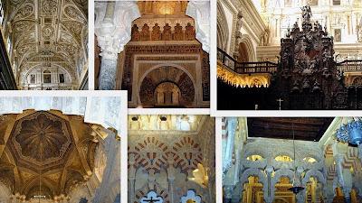 Mezquita Catedral de Cordoba Collages2