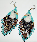 Native American Eagle Earrings
