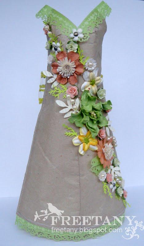 Платья Из Обёрточной Бумаги
