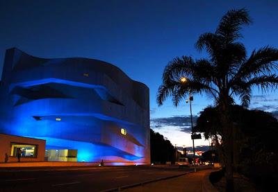 iberê camargo arquiteto alvaro siza dia mundial da diabete iluminação azul