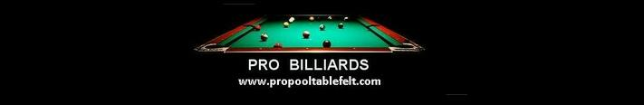 Pro Pool Table Felt