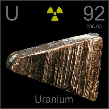uranium ธาตุ ที่ หนักที่สุดในโลก