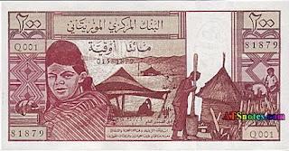 mauritania monney is ouguiya